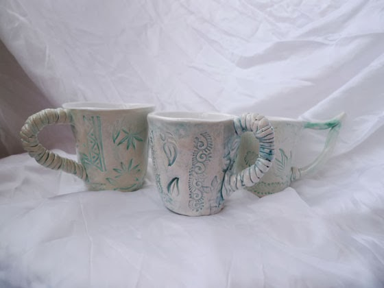 ceramics, inspiration, set, art, mug, love, spring, hobby