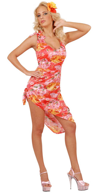 Awesome Hawaiian Party Dresses  Plus Size Prom Dresses
