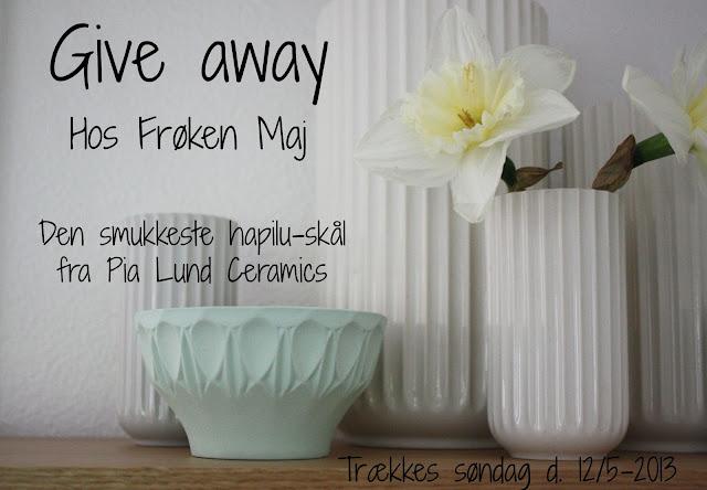 Give-away hos Frøken Maj