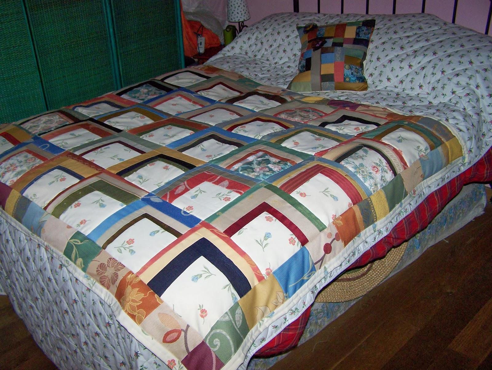 La petite maison de patchwork - Colchas de patchwork modernas ...