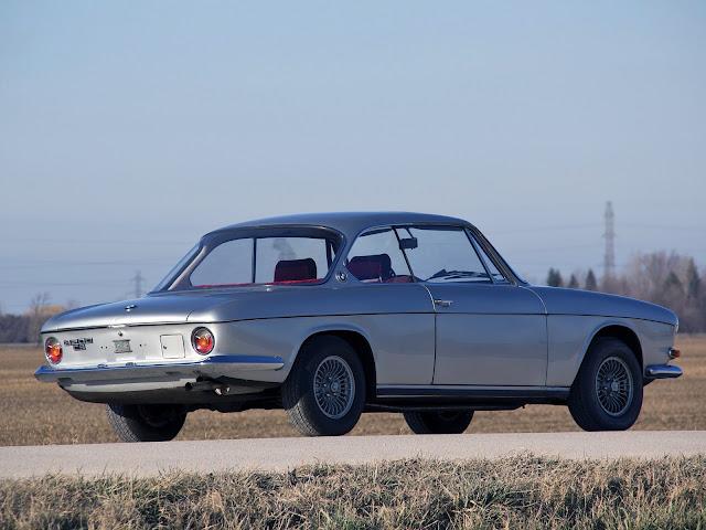 FAB WHEELS DIGEST (F.W.D.): BMW 3200CS by Bertone (1962-65)