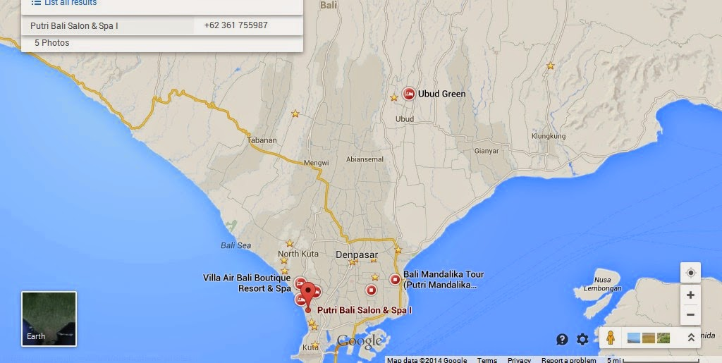 Putri Bali Spa Location Attractions Map Bali Weather Forecast And