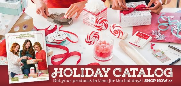 THE HOLIDAY 2014 CATALOG IS HERE