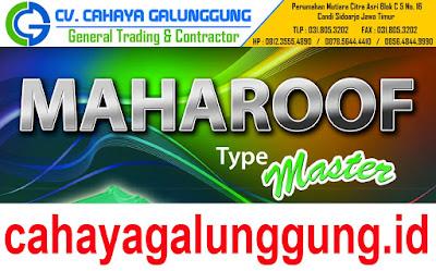 Genteng Metal Maharoof
