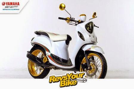 motor modifikasi Yamaha Revs Your Bike