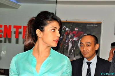Priyanka Chopra during a Press Meet in Imphal2