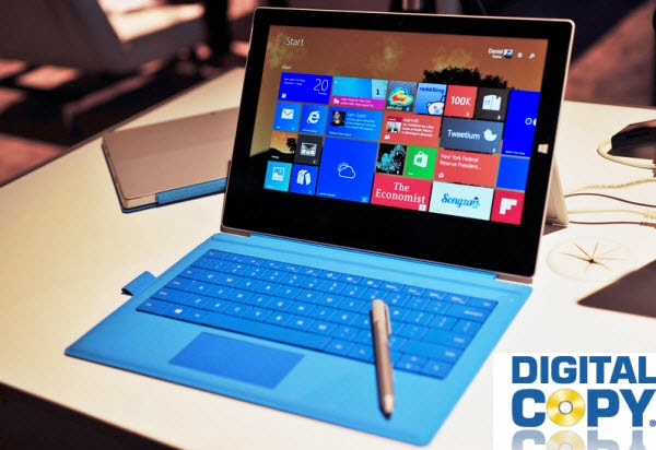 Play Digital Copy movies on Surface Pro 3 tablet
