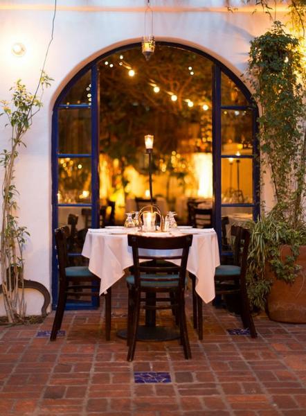 Best Restaurants In West Hollywood The Little Door On 3rd Avenue