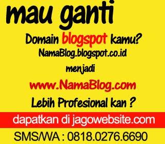 Mau ganti dommain blogspot kamu ?