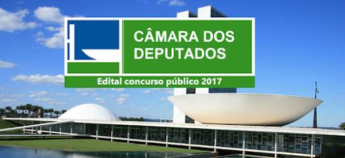 Câmara dos Deputados tem concurso público previsto-DF