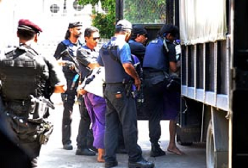 Pegawai SB Matikan Peranti Penjejakan Ketika Tembakan Dilepaskan