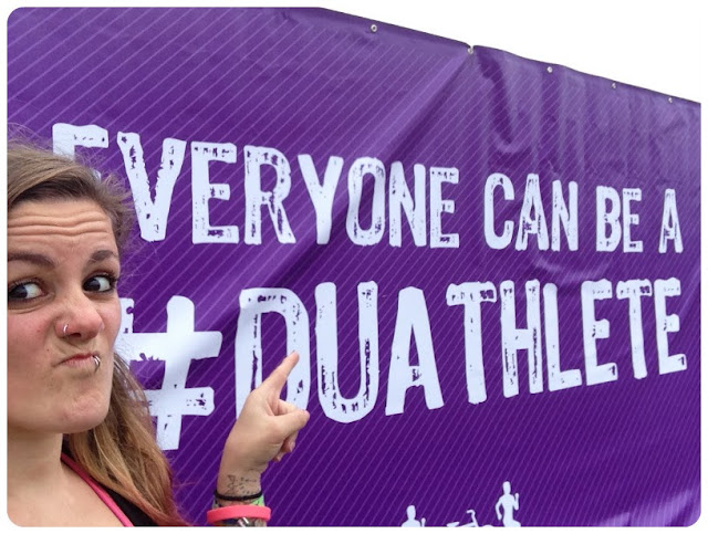 London Duathlon 2013 duathlete