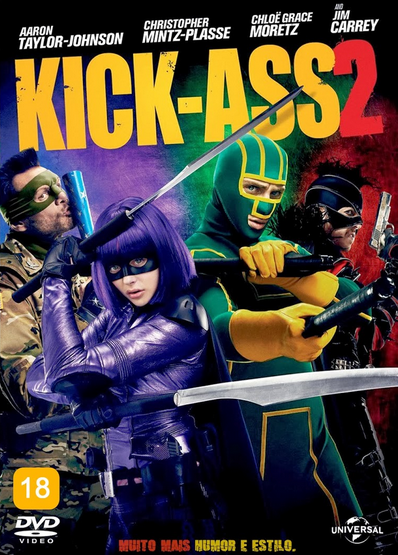 Filme Kick Ass 2 Dublado AVI BDRip