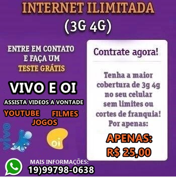 INTERNET ILIMITADA ANDROID
