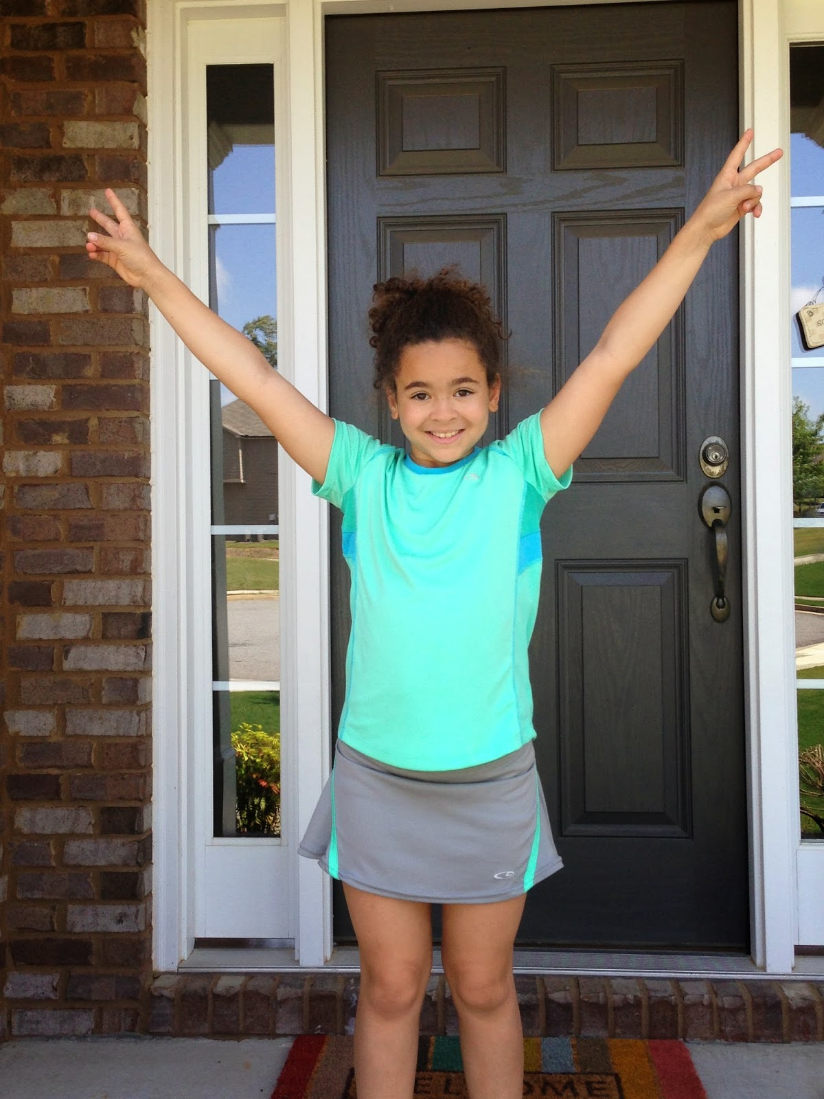 Two Little Girls With Curls: Good-bye Fourth Grade and ...