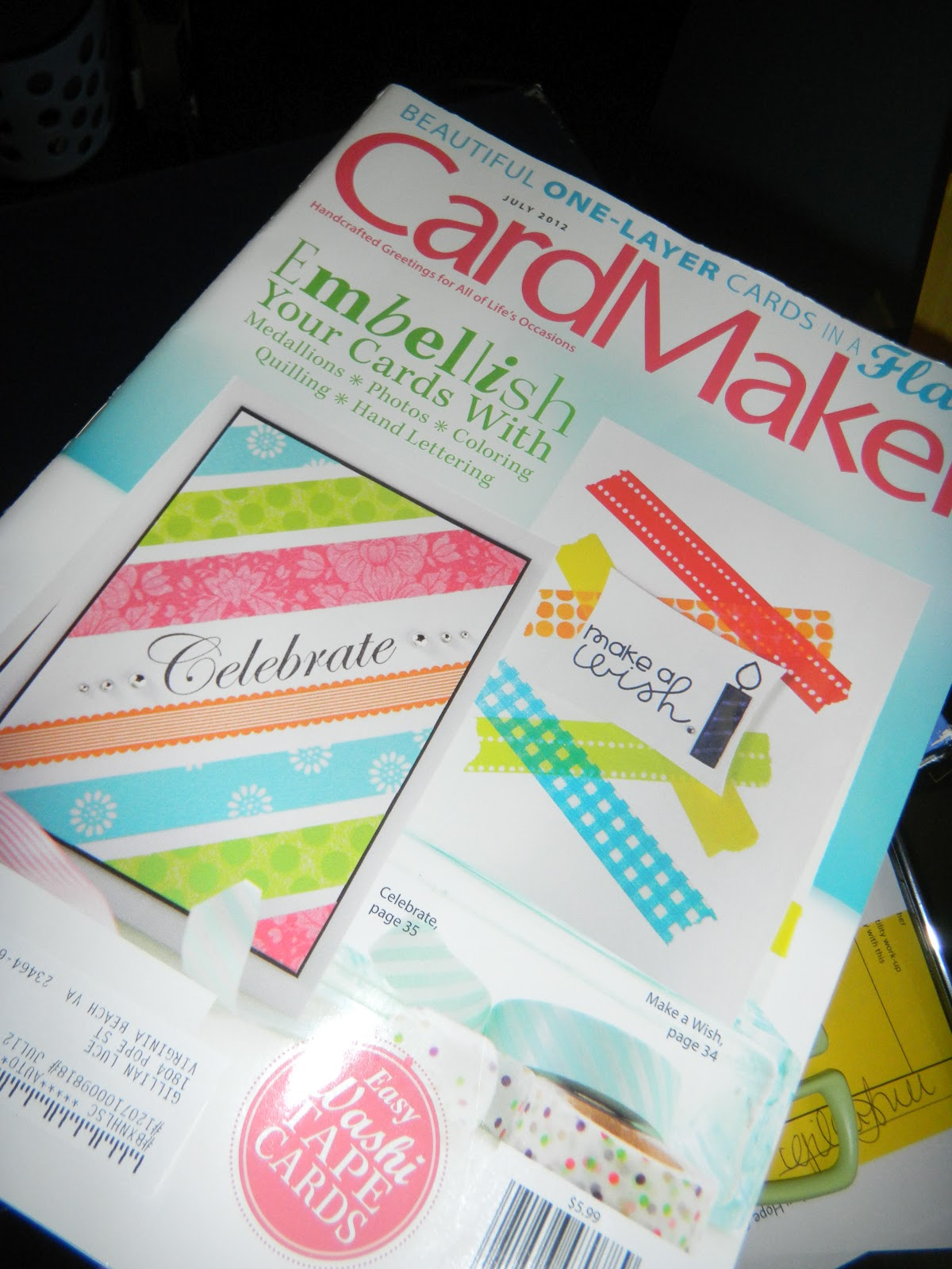 Lovely Cool Card Making Ideas Part - 13: My Grandmother Got Me This Card Making Magazine Subscription So I Looked  Through It And Found A Really Cool Idea For Making An Accordian Circle To  Offer A ...