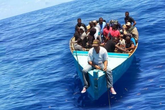 Detienen 45 persona que se iban en yola pa puerto rico.
