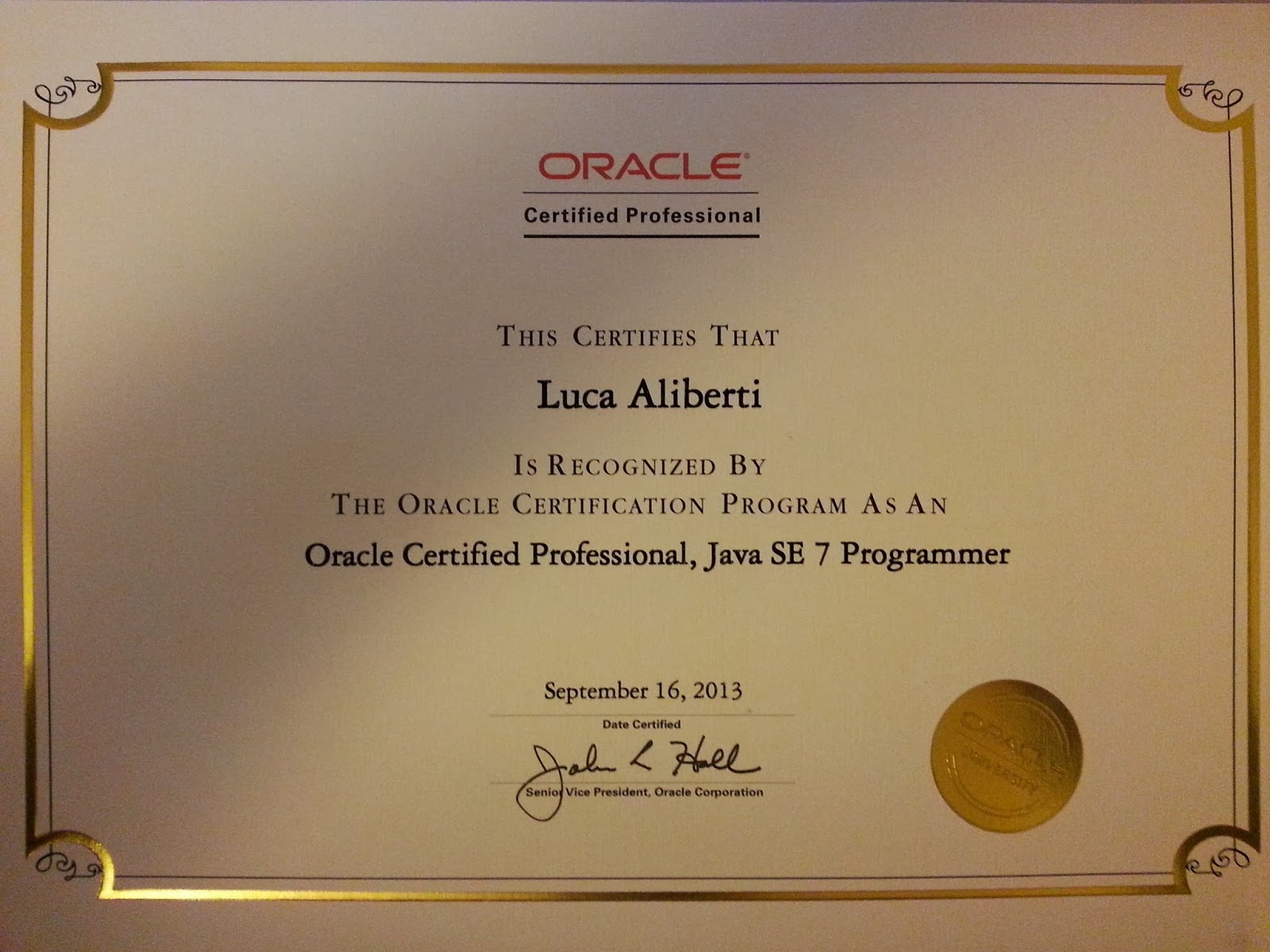 Your Software Engineer Software In Your Hands Oracle Certified