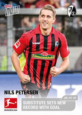 TOPPS Bundesliga 2019//2020 Sticker 181 Leon Bailey