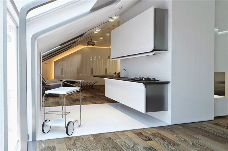 Modern Kitchen Designs Futuristic