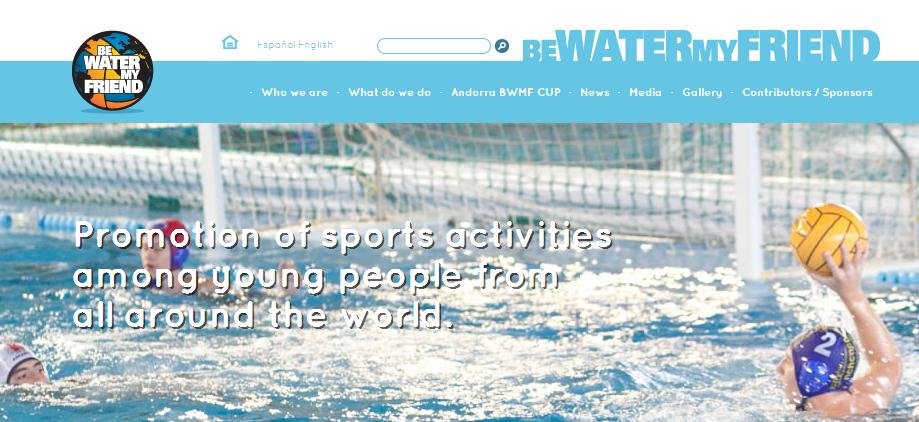 Nueva web de BWMF