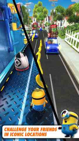 Despicable Me: Minion Rush, iPhone Action Game  Businesss Free Download, iPhone Applications