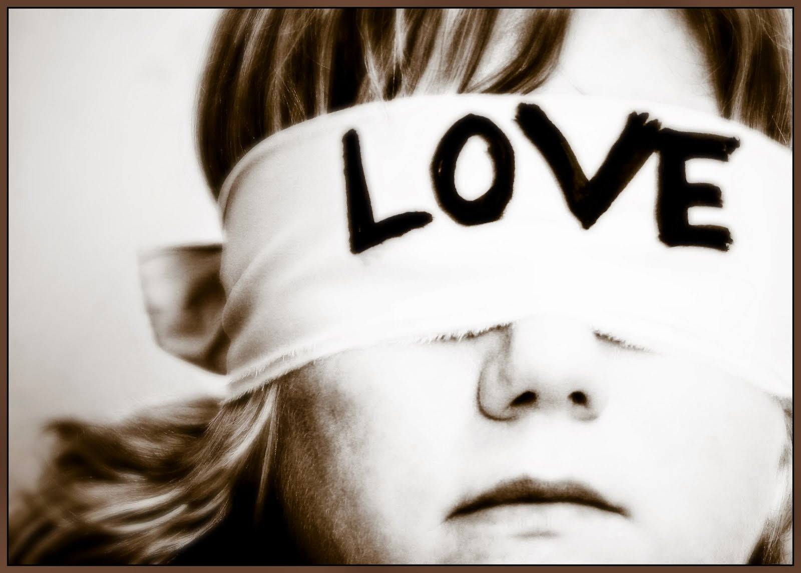 εκτός από τη δικαιοσύνη τυφλωνόταν και η αγάπη
