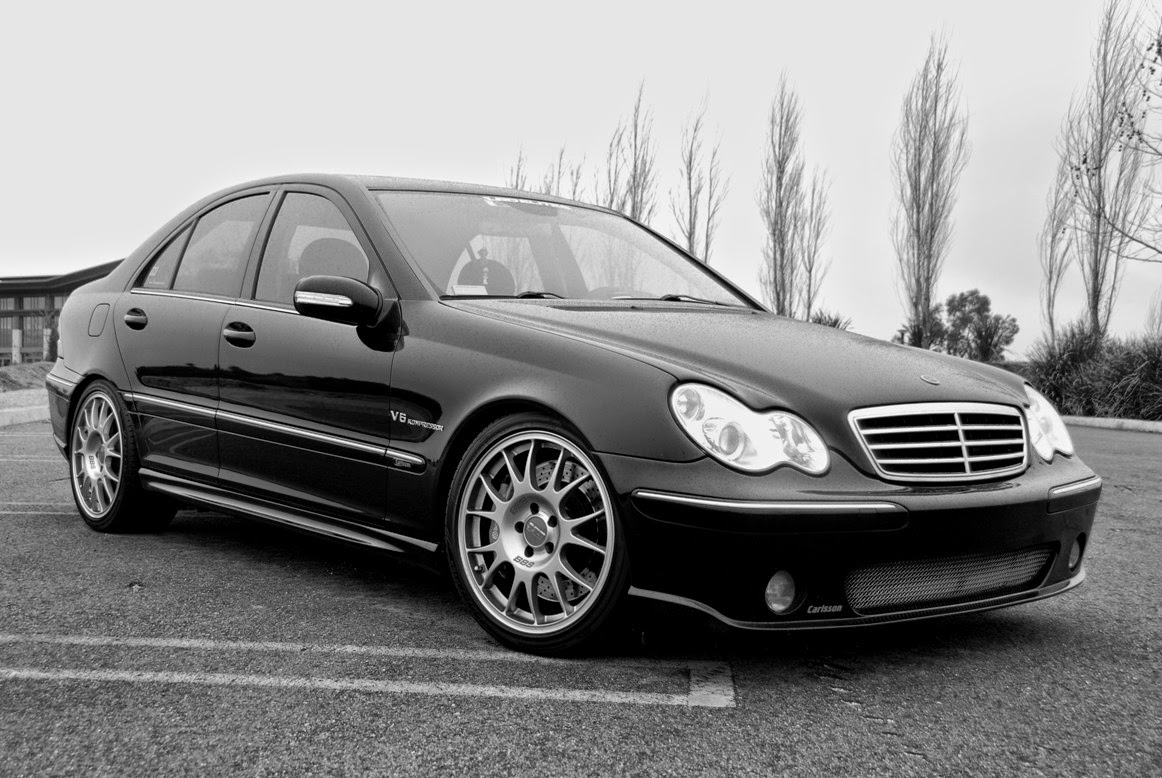 Mercedes benz w203 c55 amg carlsson benztuning for Pictures of a mercedes benz
