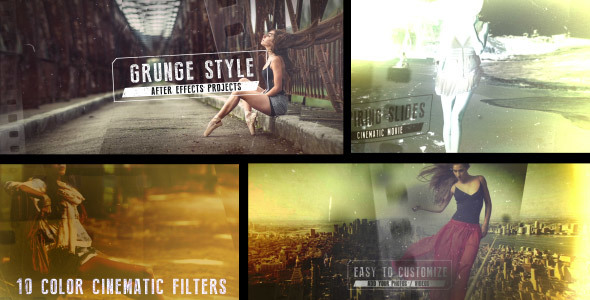 VideoHive Grunge Film Style