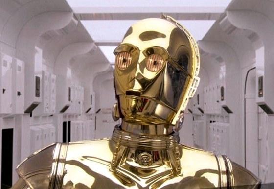 O C-3PO é um droid protocolo especializado em relações homem-cyborg