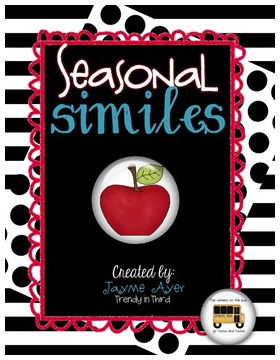 http://www.teacherspayteachers.com/Product/Seasonal-Similes-1151012