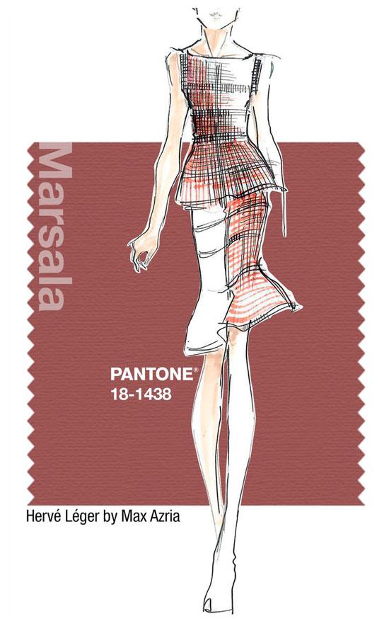 via fashioned by love | pantone colour of 2015 | marsala | ad campaign