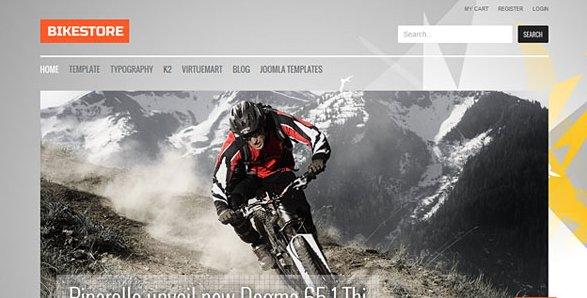 Template Xone!: GK Bikestore v3.8 GavickPro Joomla Template For J2.5 ...