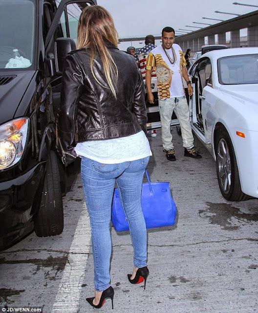 Khloe Kardashian & French Montana2