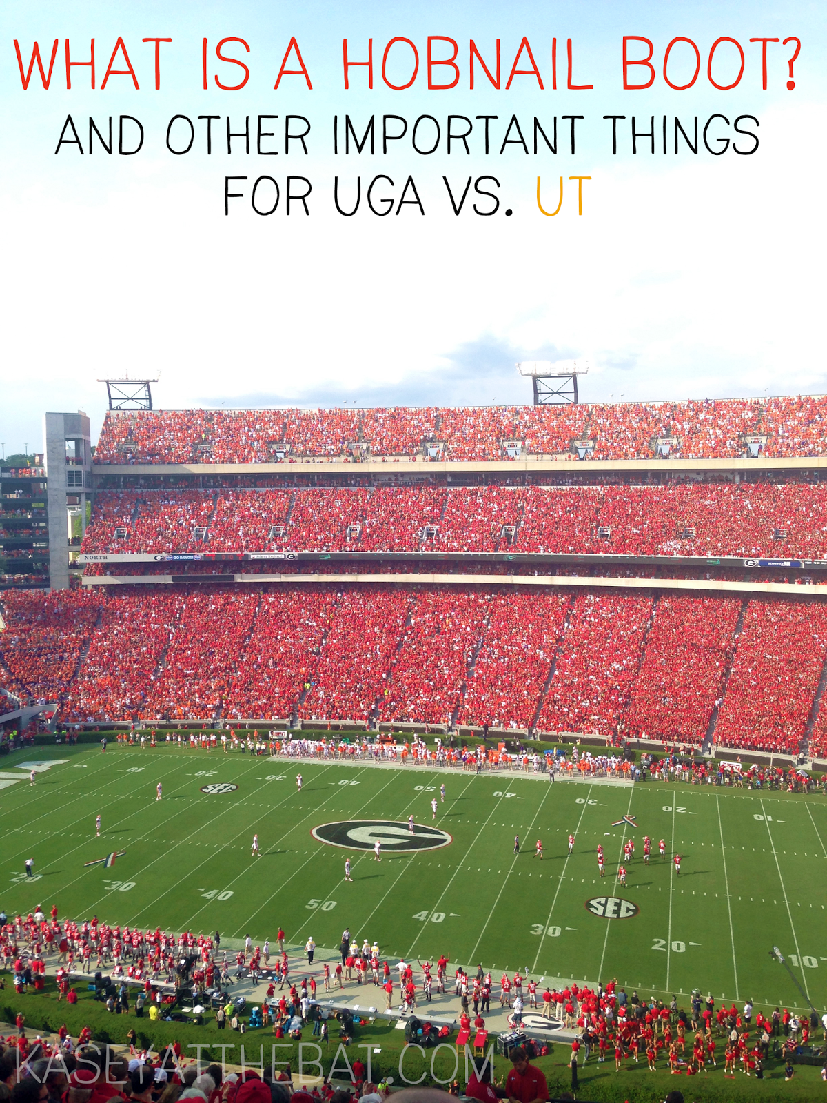 uga football tennessee rivalry