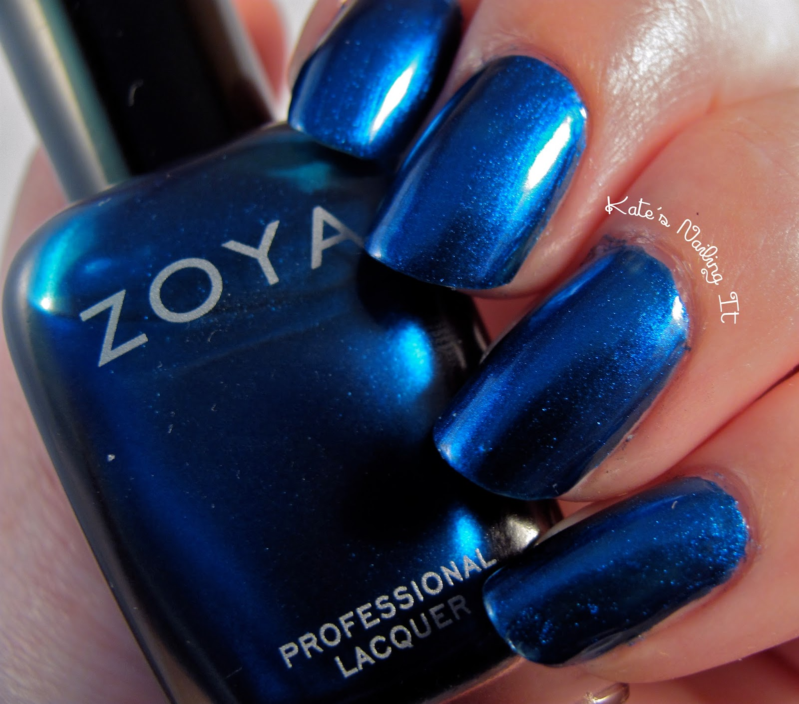 Kate\'s Nailing It: Zoya Flair: Estelle and Aggie