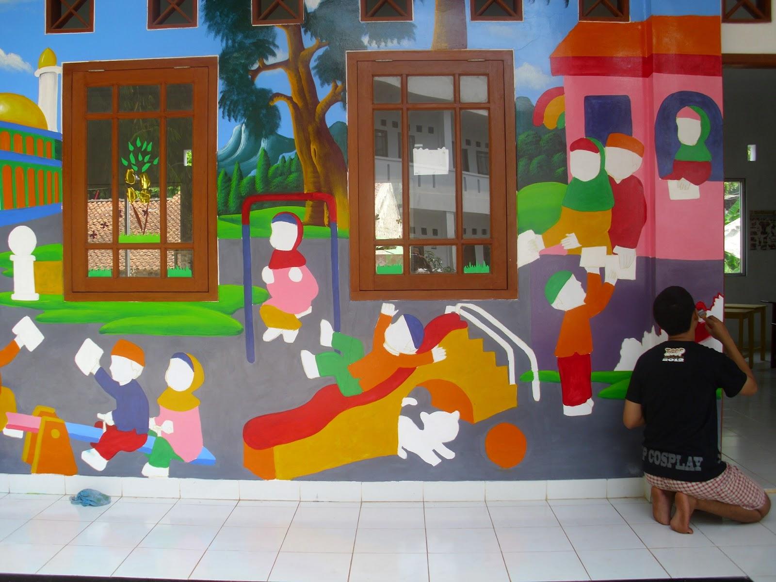 Sarana Edukasi Art Center Lukis Tembok