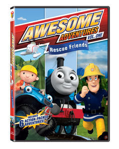 AwsomeAdventures RescueFriends 3D January2012 pv Thomas & Friends: 3 DVD Movie Set/ Awesome Adventures: Rescue Friends Review and Giveaway!!