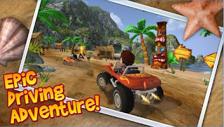 Bluestack Game Test of Beach Buggy Blitz APK by Pojok Cyber