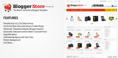 Blogger Store Templates For Online Shop/Store ~ All Blogger Tools