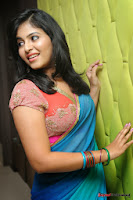 actress anjali hot saree photos at masala telugu movie audio launch+(16) Anjali Saree Photos at Masala Audio Launch