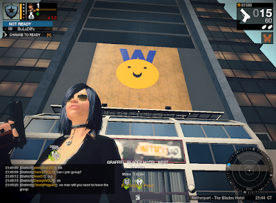 APB Reloaded - Billboard Graffiti
