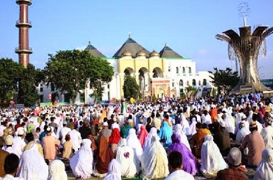Shalat Idul Adha - Vivanews