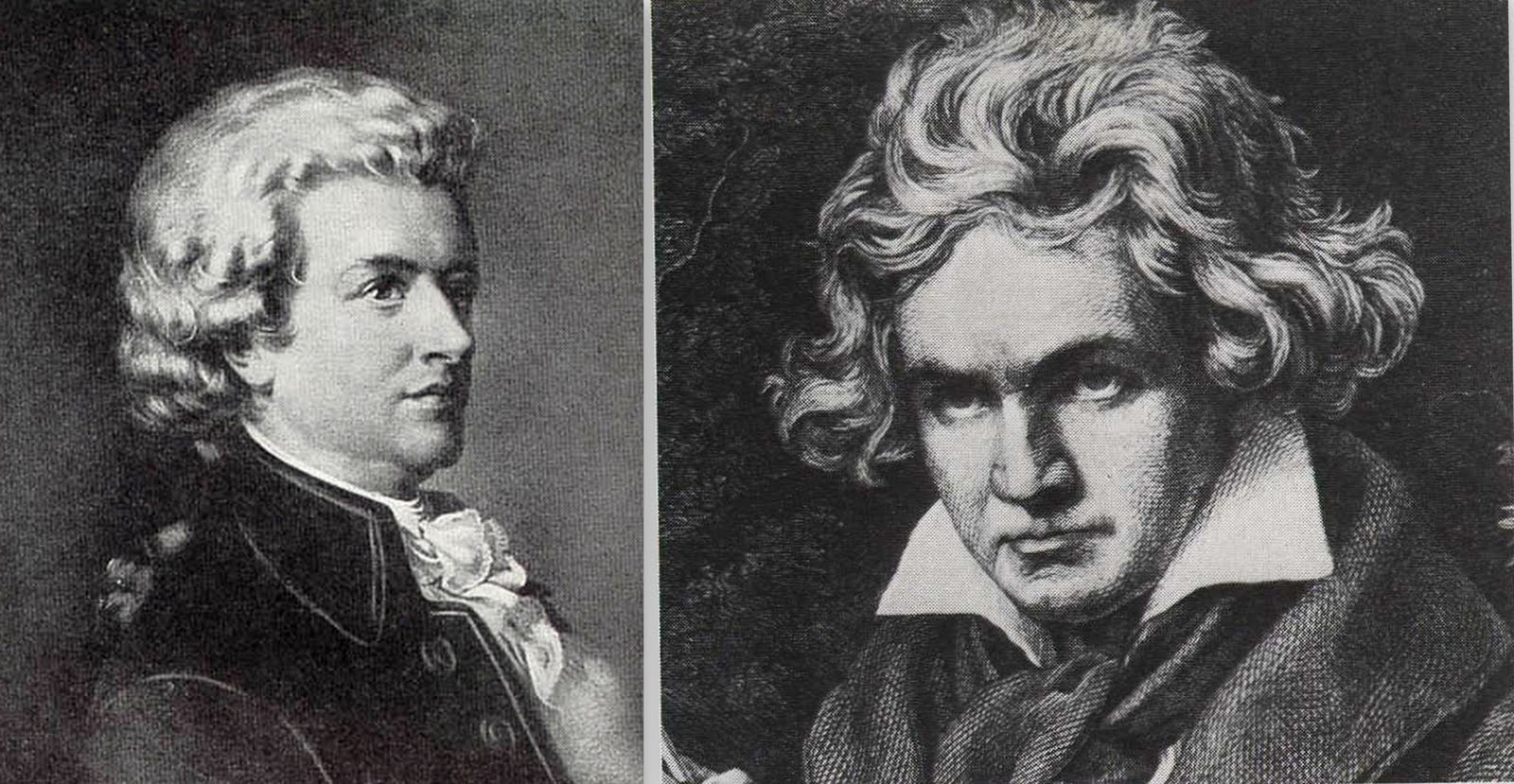 the life and works of wolfgang amadeus mozart and ludwig van beethoven Ludwig van beethoven (sixteen years younger than mozart) was greatly influenced by his work wolfgang amadeus mozart resource handout for classroom or homeschool: just $200 bbc: primary history: wolfgang amadeus mozart 5 stars.