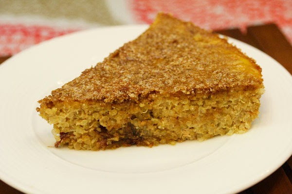 Cake for breakfast? When it's Quinoa Cake, why not?