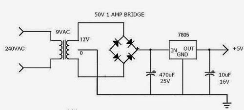 Cara Membuat Travo/Power Suply 5 Volt dan 12 Volt DC