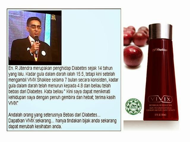 Vivix Bantu Rawat Diabetes