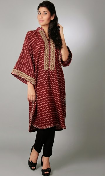 Maheen Karim Tops Collection 2014