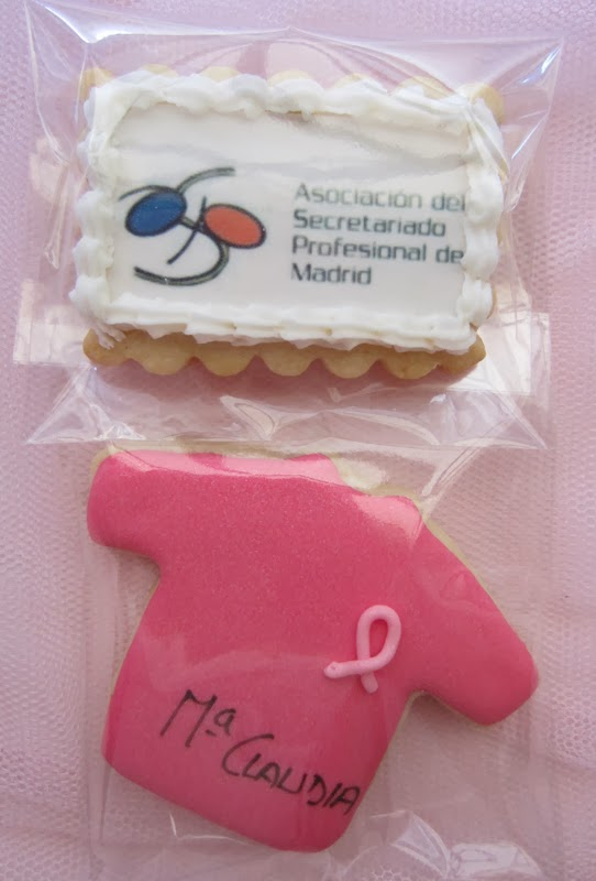 Galleta decorada, cancer, camiseta, carrera mujer Zaragoza
