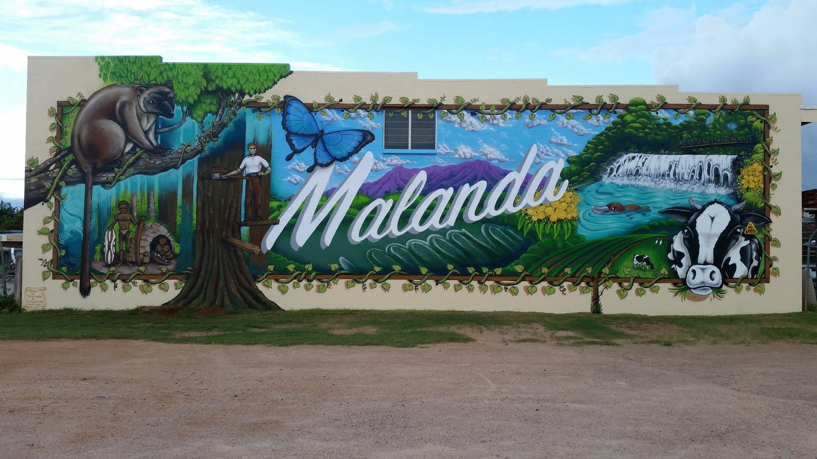 Malanda Community Mural
